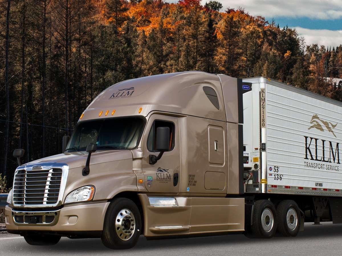 Company Driver Trucking Jobs   KLLM Transport Services